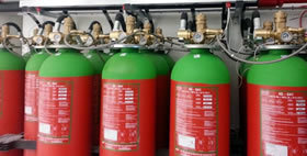 GASEOUS FIRE SUPPRESSION